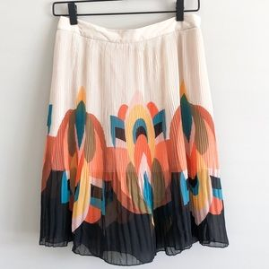 Forever 21 | Colorful Pleated Swing Skirt